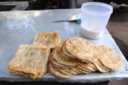 atta: charpati Indian bread
