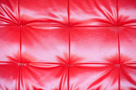 Red leather texture Stock Photo - 17345491