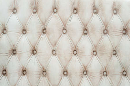 Luxury white leather texture Imagens
