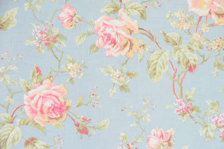 vintage symbol: Rose fabric background