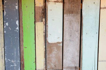 Fondo de madera de colores