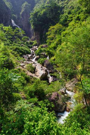 La cascada en Nepal