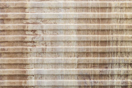 Old corrugated metal sheet  photo