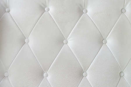 White leather sofa texture  photo