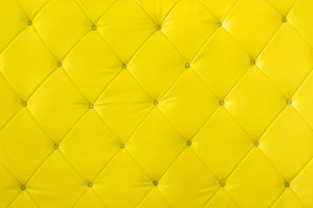 Yellow leather sofa texture photo