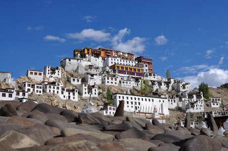Thiksey monasterio en Ladakh, India