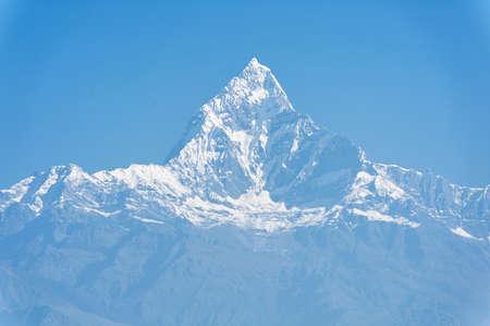 pokhara: Machapuchare mountain, Pokhara, Nepal