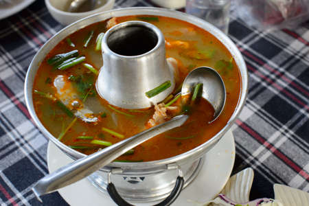 tom yum soup photo