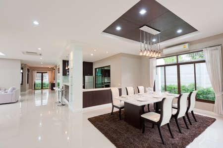 case moderne: Sala da pranzo moderna
