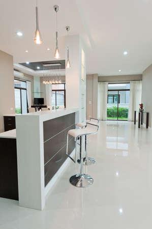 interior designer: Modern dining room Stock Photo