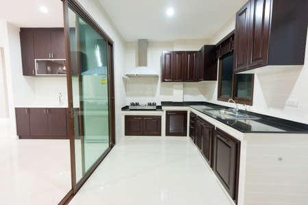 Kitchen interior photo