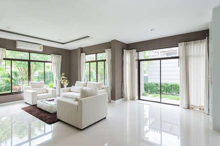 Modern living room photo