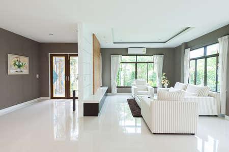 Modern living room Stock Photo - 27987610