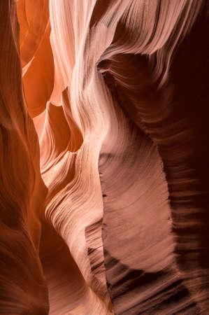 lower antelope: Lower Antelope Canyon Stock Photo