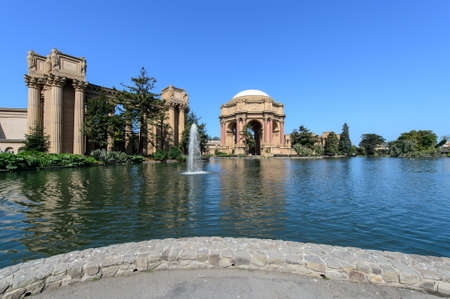 Palacio de Bellas Artes de San francisco EE.UU.