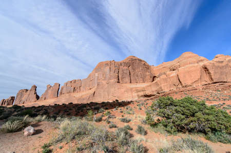 north window arch: Arches National park Utah