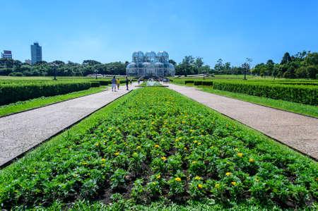 Botanical garden, Curitiba, Brazil Stock Photo