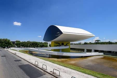 oscar niemeyer: Oscar Niemeyer Museum in Curitiba