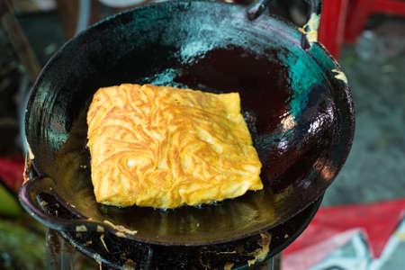 padthai: Padthai with egg Stock Photo