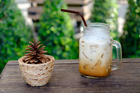 capuchino: cup of capuchino coffee
