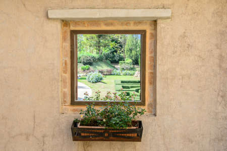 resplendence: Window in the garden