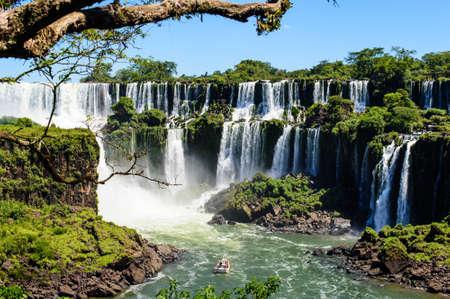 イグアスの滝アルゼンチンからビュー