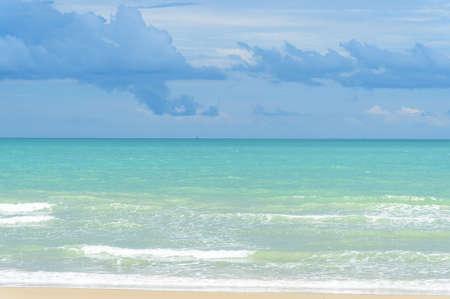 sea beach and blue sky
