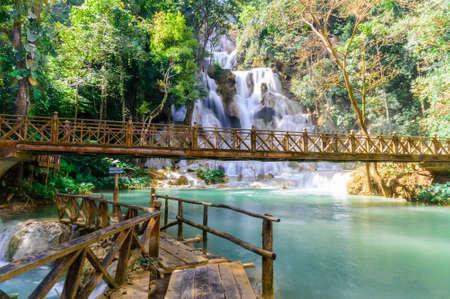 Kuang Si Waterfalls, Luang Phrabang, Laos
