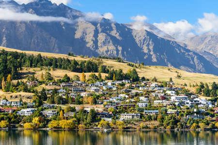 Landscape of Queenstown, New Zealand