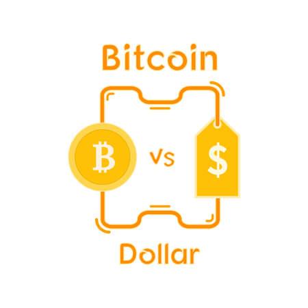 Bitcoin Cryptocurrency Design Vector Illustration Illustration