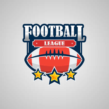 American Football Logo Template Vector Design