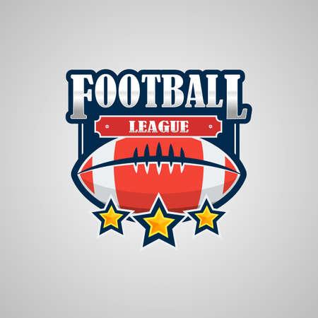 American Football Logo Template Vector Design