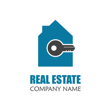 modern real estate logo template creative home logo icon design