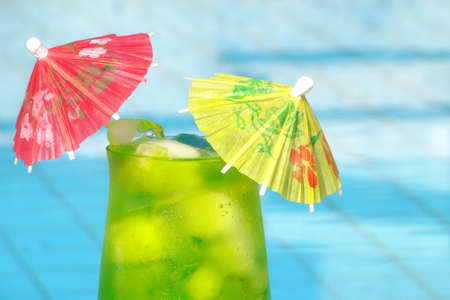 pool bar: Tropical drink