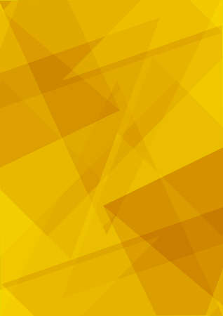 Polygonal yellow stylish modern triangle shapes abstract background mockup template. Polygons backgrounds .