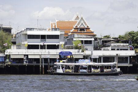 Chao Phraya Ferry on chao phraya river
