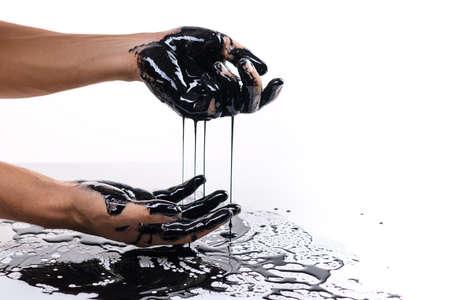 Falling oil prices. World financial crisis concept Reklamní fotografie