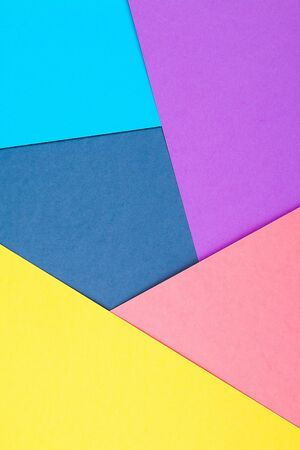 Abstract paper is colorful background, creative design for pastel wallpaper. Top view.
