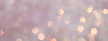Blurred Bokeh. Holiday glowing backdrop. Christmas light background. Defocused Background With Blinking Stars. Stok Fotoğraf