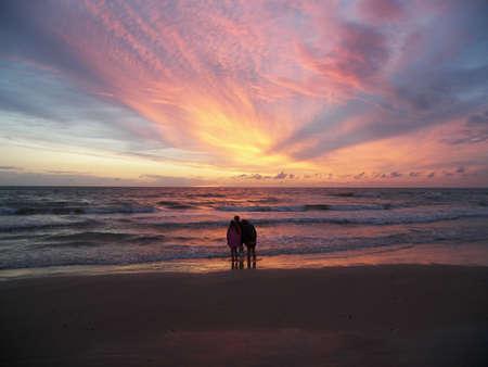 three kids on the beach Stock Photo - 547205
