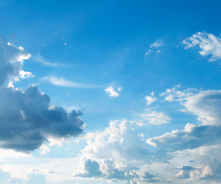 ciel avec nuages: The vast blue sky and clouds sky