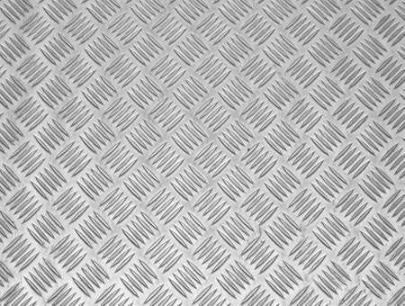 checker plate: Sheet metal walkway