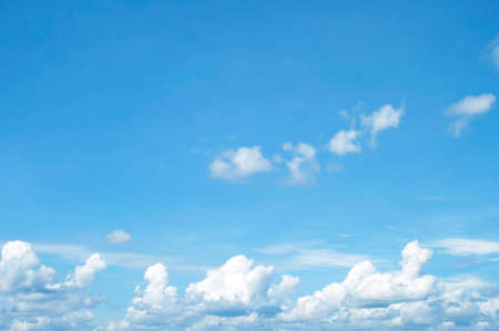 cloud: The vast blue sky and clouds sky