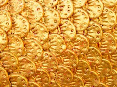 stucco: Stucco dragon scales