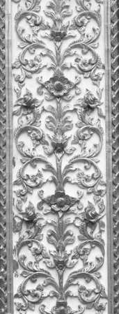 stucco: Stucco carvings Stock Photo