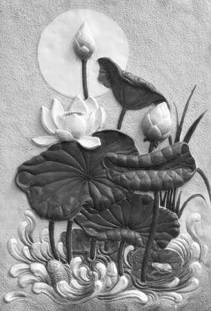 stucco: lotus stucco