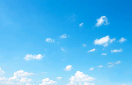 sparse: The vast blue sky and clouds sky