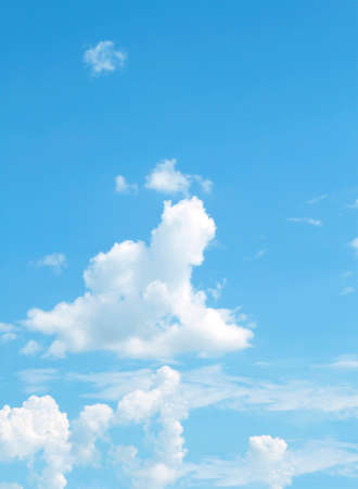 fluffy clouds: The vast blue sky and clouds sky