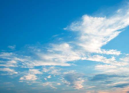 blue sky: The vast blue sky and clouds sky