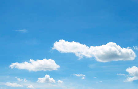 heaven: The vast blue sky and clouds sky
